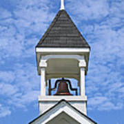 Country Church Bell Poster