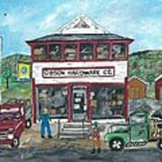 Country Hardware Store Poster