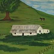 Country Life Poster by Melanie Blankenship
