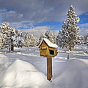 Country Mailbox Poster