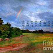 Country Rainbow Poster by Darren Fisher