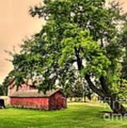 Country Scene Poster by Kathleen Struckle