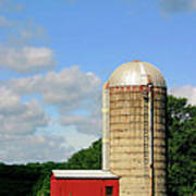 Country Silo Poster
