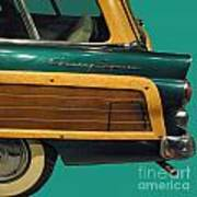 Country Squire Wagon Poster