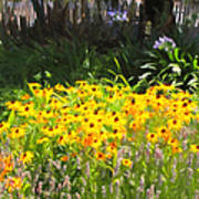 Countryside Cottage Garden 5d24560 Long Poster by Wingsdomain Art and Photography