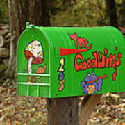 Countryside Mailbox #15 Poster
