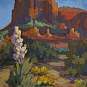 Courthouse Rock Sedona Poster