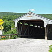 Covered Bridge For Pedestrians Poster