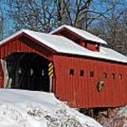 Covered Covered Bridge Poster