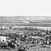 Covered Wagon Corral Poster