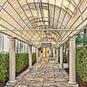 Covered Walkway Poster