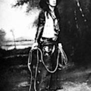 Cowboy, C1880 Poster