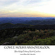 Cowee Mountains Overlook Poster
