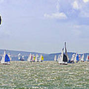 Cowes Week Isle Of Wight Poster