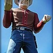 Cowtown Cowboy Poster