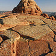 Coyote Buttes Rock Formation Poster