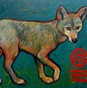 Coyote Of The Symbol Poster