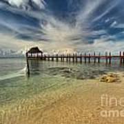 Cozumel Beach Paradise Poster