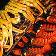 Crab Vs. Lobster Poster