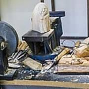Craftsman Work Table Poster