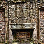 Craigsmillar Castle Fireplace Poster