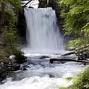 Crandel Creek Falls Poster