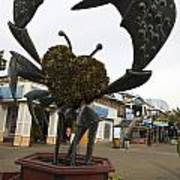 Crap Sculpture Fisherman's Wharf San Francisco Poster