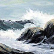 Crashing Sea Poster