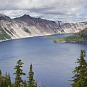 Crater Lake Or 10 Poster