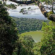 craterlake in Montagne d'Ambre National Park Madagascar Poster