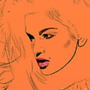 Crawford Orange Poster by GCannon