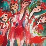 Crazy Joker Showgirls Poster