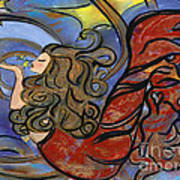 Creating Inspiration - Mermaid Poster