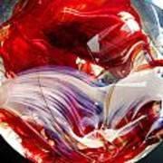 Crimson Orb Poster
