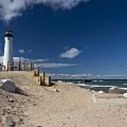 Crisp Point Lighthouse 17 Poster