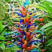 Cristal Garden Poster