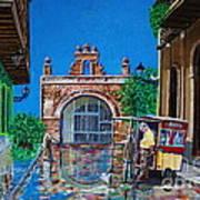 Capilla De Cristo - Old San Juan Poster