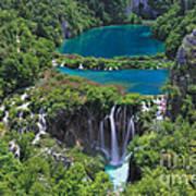 Croatia Landscape Poster