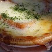Crock Of French Onion Soup Poster