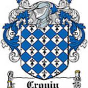 Cronin Coat Of Arms Irish Poster