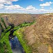 Crooked River Canyon Poster