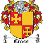 Cross Coat Of Arms Irish Poster
