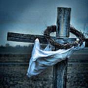 Cross In A Field Poster
