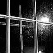 Cross In Window Poster