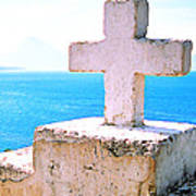 Cross Over Lake Atitlan Poster