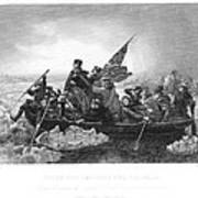Crossing The Delaware Poster by Granger
