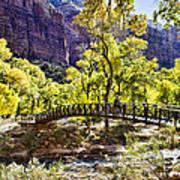 Crossover The Bridge - Zion Poster