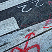 Crosswalk Poster by Jim Wright