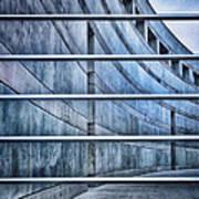Crystal Bridges Museum Greytones Poster by Gia Marie Houck