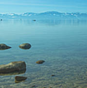Crystal Clear Lake Tahoe Poster